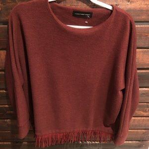 Hidden Forrest Berry Sweater
